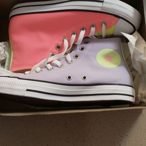 Muti colored converses